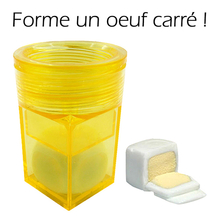Oeuf carré «Egg cuber»